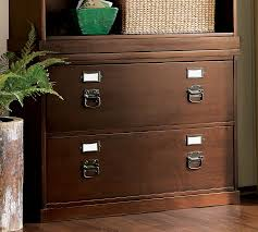 Espresso Lateral File Cabinet Bedford Lateral File Cabinet Pottery Barn