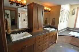Craftsman Style Pendant Lighting Bathroom Craftsman Bathroom Vanity With Craftsman Pendant Also