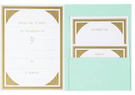Gatsby Invitations Off The High Street U2013 Paperchase Gatsby Wedding Invites