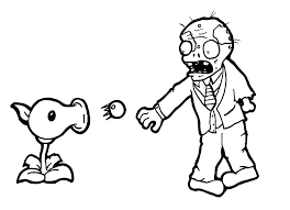 free printable zombie images zombie coloring pages plants vs zombies coloring book as well as