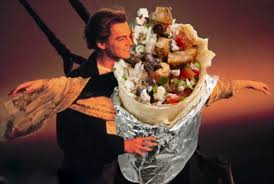 Burrito Meme - 12 classic love scenes improved by a chipotle burrito