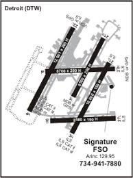 detroit metro airport map dtw airport information location and details