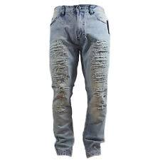 Ripped Denim Jeans For Men Ripped Jeans For Men Ebay