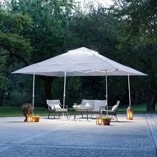 ozark trail 14 u0027 x 14 u0027 instant canopy with led lighting system