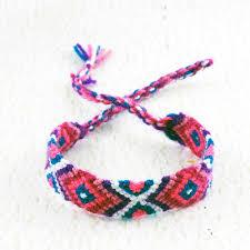 diamond bracelet friendship images Loving pink woven bracelet string friendship bracelets macrame jpg