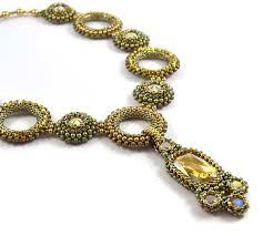 necklace pattern images Panthera necklace beading pattern liisa turunen designs jpg