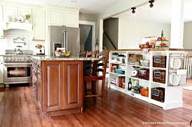 kitchen island storage golden boys and me bookshelves turned kitchen island ikea hack