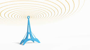 animated sketch of the eiffel tower video animation footage hd