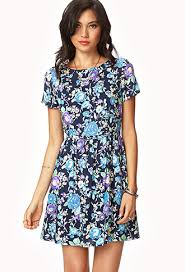 print short sleeve dress forever21 2041806754