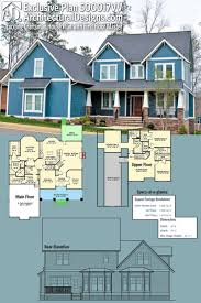 100 adhouse plans plan 64100cal exclusive 3 level modern