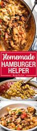 cheeseburger casserole homemade hamburger helper recipetin eats