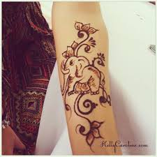 21 best henna elephant tattoo images on pinterest artists