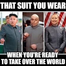 Dr Evil Meme - what does kim jong un dr evil and hillary clinton have in common