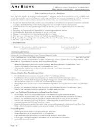 administrative resume template styles executive administrative assistant resume template 10