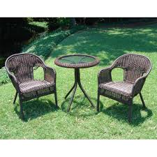 Resin Bistro Chairs Resin Wicker Bistro Set