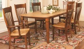 Amish Dining Tables Amish Hand Crafted Solid Wood Furniture Rotmans