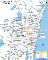 Map Book Location Map Of Book Shops In Chennai Tamil Nadu