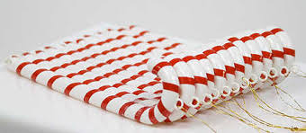 plastic candy canes wholesale plastic candy ornaments with hangers pkg 12 candy canes