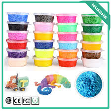 super colorful promotion diy kids aquosity foam beads 24 colorful magic foam