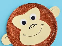 Paper Plate Monkey Craft - 18 paper plate monkey craft paper plate asuntospublicos org