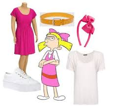 Helga Halloween Costume Dress 10 Fave Nicktoons Characters Costumes