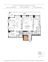 floor plans the davies luxury condo