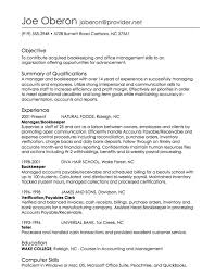 Example Of Resume Skills And Qualifications by Resume Writing Employment History Full Page