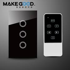 high tech light switches us au smart switch crystal glass panel touch light switch wireless