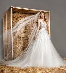 zuhair murad bridal 2016 zuhair murad vintage modest sheer wedding dress sheer neck
