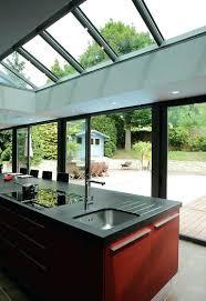 cuisine sous veranda veranda cuisine faire cuisine dans une vacranda concept alu la
