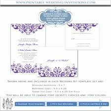 blank wedding invitation kits purple wedding invitation kits christmanista