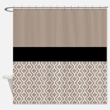 Country Plaid Curtains Astonishing Design Black And Tan Shower Curtain Innovation Ideas