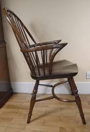Antique English Windsor Chairs Pair Windsor Chairs Farmhouse Oak Kitchen Chair Ebay