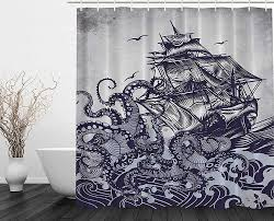 Sailboat Shower Curtains 82 Cool Shower Curtains For An Unique Bathroom