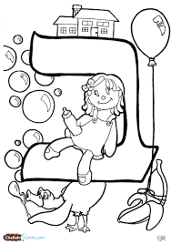 alphabet colouring page funycoloring