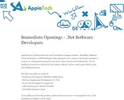 sample resume for c net developer appiatech linkedin recent updates
