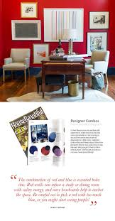 red and blue color combo robert brown interior design laurel home
