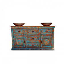 Turquoise Vanity Table Reagan Double Sink Vanity With Tower 000902