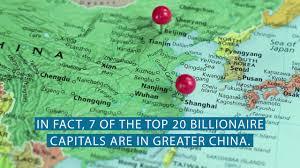 Dalian China Map Where Billionaires Live Beijing New York Hong Kong Paris Money