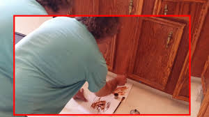 refinishing veneer kitchen cabinets veneer repair and touch up on oak kitchen cabinets timeless arts