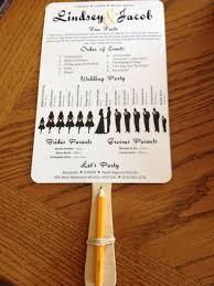 diy wedding program fans template ten things you should do in diy wedding program template