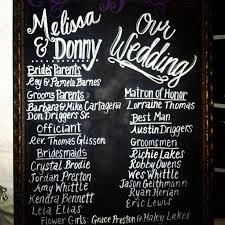 Wedding Program Board 20 Best Wedding Signage Images On Pinterest Wedding Signage