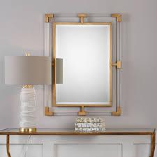 mirrored home decor furniture balkan modern gold wall mirror uttermost wall mirror