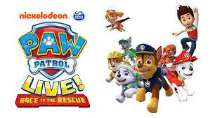 paw patrol live show