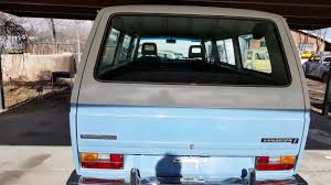 volkswagen vanagon blue 1983 volkswagen vanagon l funky style youtube