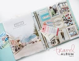 travel photo albums best 25 scrapbook travel album ideas on photo album