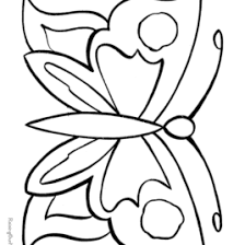 butterfly coloring book printable all about coloring pages