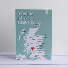 Home Is Where The Heart Is Home Is Where The Heart Is U0027 Greetings Card By Paperpaper