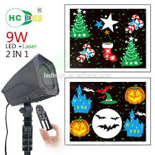 waterproof laser combine christmas decoration led projector lights