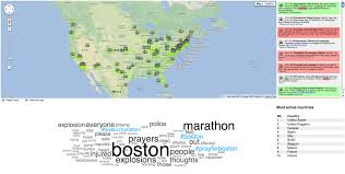 Gmu Map Colorado by Live Reactions To The Boston Marathon Bombs Geosocial Gauge